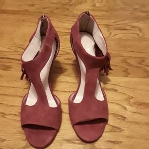 Brand new Kate Spade red high heels 9 1/2 B